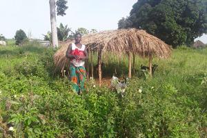 The Water Project: Kaitabahuma I Community -  Feeding Goats