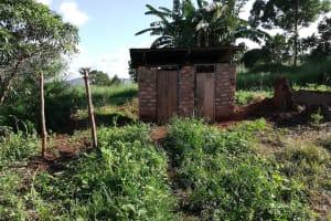 The Water Project: Kaitabahuma I Community -  Latrine