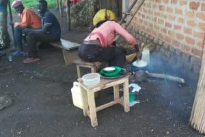 The Water Project: Kaitabahuma I Community -  Making The Staple Posho