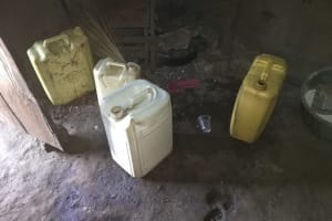 The Water Project: Kaitabahuma I Community -  Water Containers