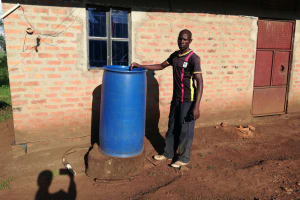 The Water Project: Kaitabahuma I Community -  Water Storage Container
