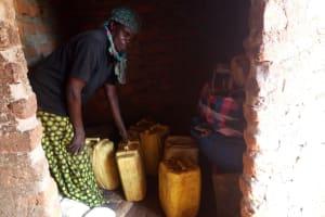The Water Project: Rubona Kyawendera Community -  Kitchen