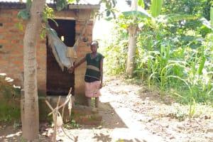 The Water Project: Rubona Kyawendera Community -  Latrine