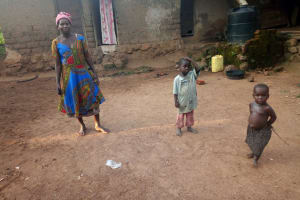 The Water Project: Rubona Kyawendera Community -  Madam Charity At Home