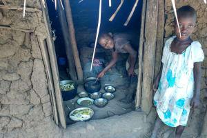 The Water Project: Rubona Kyawendera Community -  Serving Food