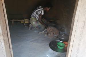 The Water Project: Ejinga Taosati Community -  Inside Kitchen