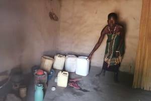 The Water Project: Ejinga Taosati Community -  Water Storage Containers