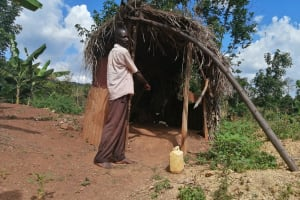 The Water Project: Kabo Village -  Latrine