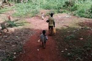 The Water Project: Kabo Village -  Walking To Fetch Water