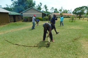 The Water Project: Makale Primary School -  Site Excavation And Ground Breaking