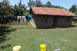The Water Project: Mahira Community, Wora Spring -  A Household Compound