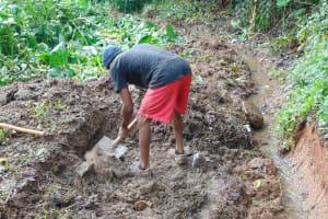 The Water Project: Chepnonochi Community, Shikati Spring -  Excavation
