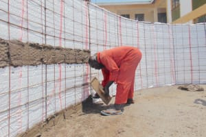 The Water Project: Friends Secondary School Shirugu -  Interior Wall Cementing