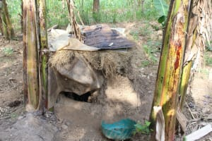 The Water Project: Litinye Community, Shivina Spring -  Dog House