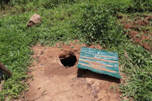 The Water Project: Mahira Community, Wora Spring -  A Hole In The Ground Used As A Latrine