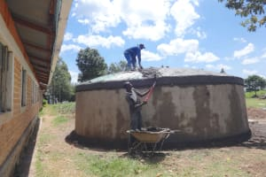 The Water Project: Friends School Mahira Primary -  Dome Construction