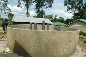 The Water Project: Makale Primary School -  Tank Progress