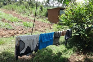 The Water Project: Mahira Community, Wora Spring -  Clothesline