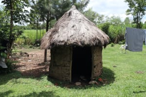 The Water Project: Mahira Community, Litinyi Spring -  Calf Shed