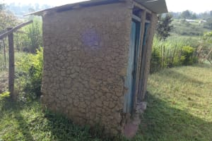 The Water Project: Mahira Community, Kusimba Spring -  Latrines