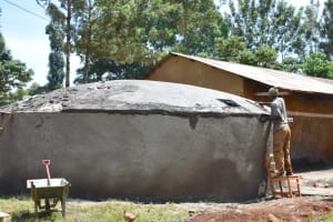 The Water Project: Gamalenga Primary School -  Dome Casting