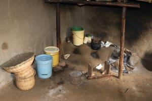 The Water Project: Harambee Community, Elijah Kwalanda Spring -  Kitchen Inside