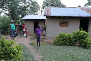 The Water Project: Mukhonje Community, Mausi Spring -  At Home