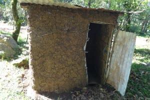 The Water Project: Mahira Community, Kusimba Spring -  Latrine