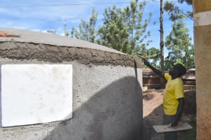 The Water Project: Gamalenga Primary School -  Dome Plaster