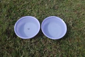 The Water Project: Mahira Community, Kusimba Spring -  Handwashing Basins