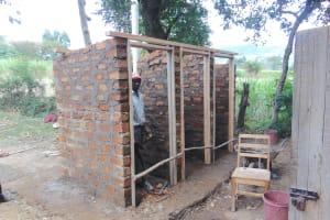 The Water Project: Friends Kuvasali Secondary School -  Latrines Construction