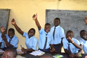 The Water Project: St. Peter's Khaunga Secondary School -  The Session Was Lively And Full Of Reactions