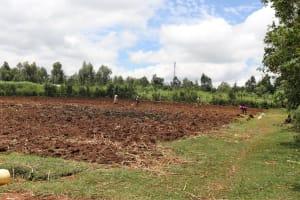 The Water Project: Mahira Community, Litinyi Spring -  Community Farms