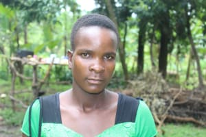The Water Project: Litinye Community, Shivina Spring -  Teenager Named Real
