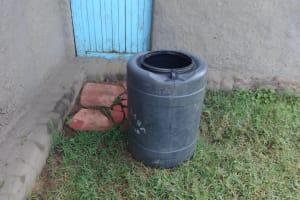 The Water Project: Mahira Community, Kusimba Spring -  Small Alternative Home Water Source Rain Catchment