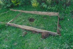 The Water Project: Bukhaywa Community, Ashikhanga Spring -  Sanitation Platform Work