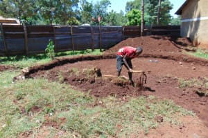 The Water Project: Gamalenga Primary School -  Excavation Continues