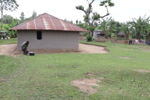 The Water Project: Mukhuyu Community, Chisombe Spring -  Homestead Compound