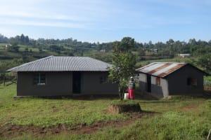 The Water Project: Mahira Community, Kusimba Spring -  Household Compound