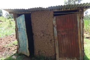 The Water Project: Mahira Community, Wora Spring -  Latrine