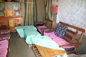 The Water Project: Mahira Community, Litinyi Spring -  Inside A Community Members Home