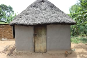 The Water Project: Mukhuyu Community, Chisombe Spring -  Traditional House