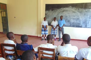 The Water Project: Friends Secondary School Shirugu -  Students Vote For Health Club Leaders