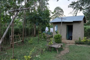 The Water Project: Mukhonje Community, Mausi Spring -  Boys House