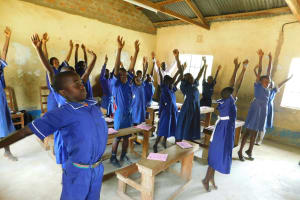 The Water Project: Makale Primary School -  Time For A Stretch