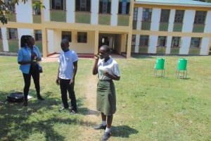 The Water Project: Friends Secondary School Shirugu -  Demonstration Of Dental Hygiene