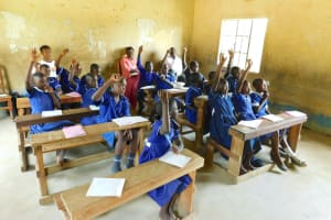 The Water Project: Makale Primary School -  Pupils Vote For Health Club Leaders