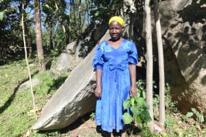 The Water Project: Mahira Community, Kusimba Spring -  Alice Kusimba Spring Landowner