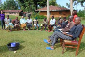 The Water Project: Chepnonochi Community, Shikati Spring -  Training Participants