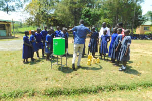 The Water Project: Makale Primary School -  Handwashing Demonstration